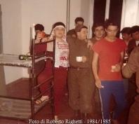 Roberto Righetti anno 1984/1985