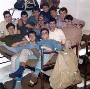 Camerata III Compagnia anno 1980