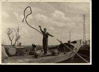 In barca con Riccardo Cappellozza