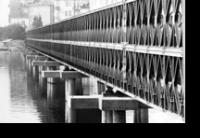 Il ponte militare più lungo d'Italia nel 1980