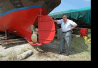 Il restauro del rimorchiatore Sparviero